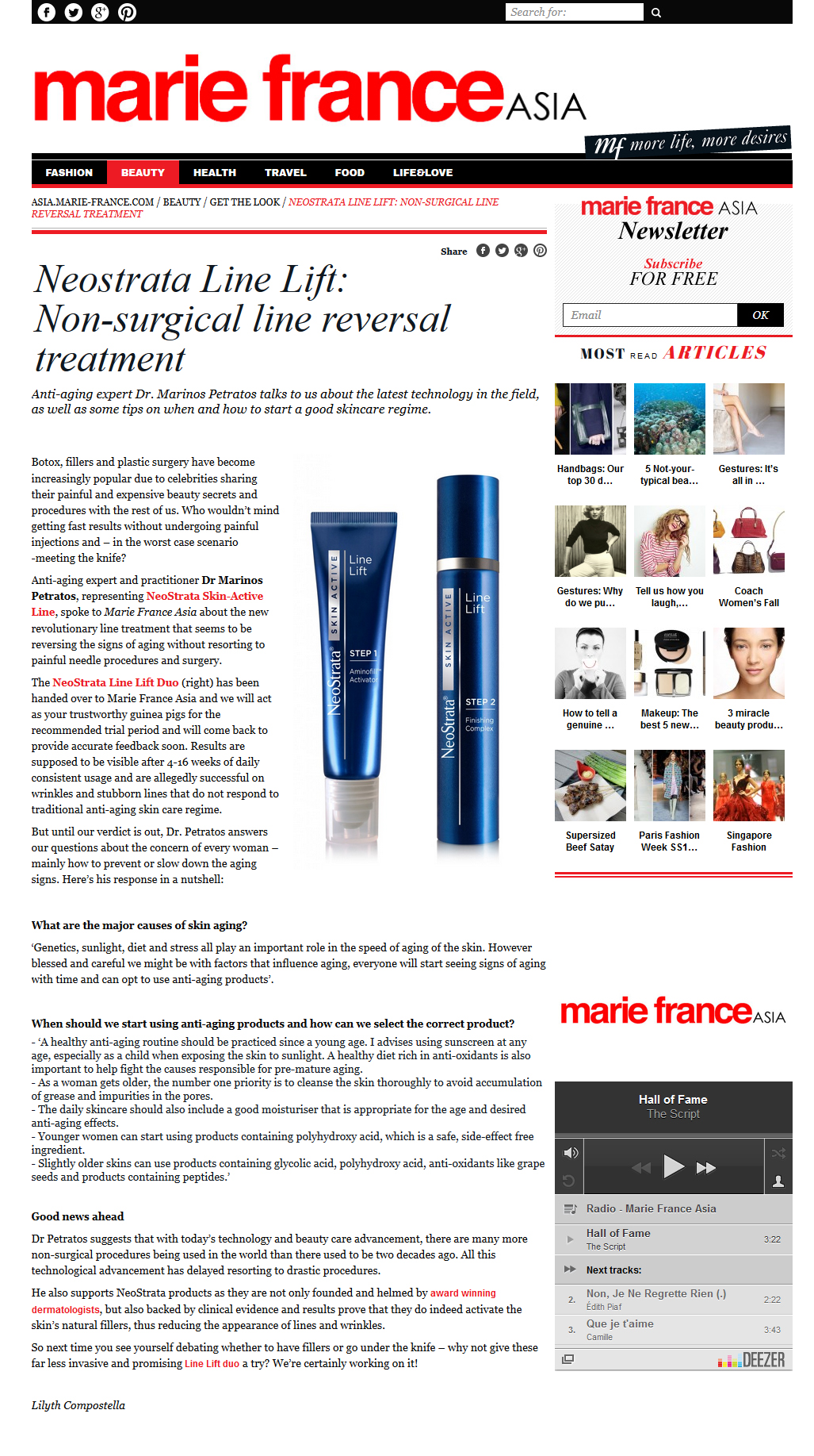 2013 09 23 - Line Lift Marie France Asia