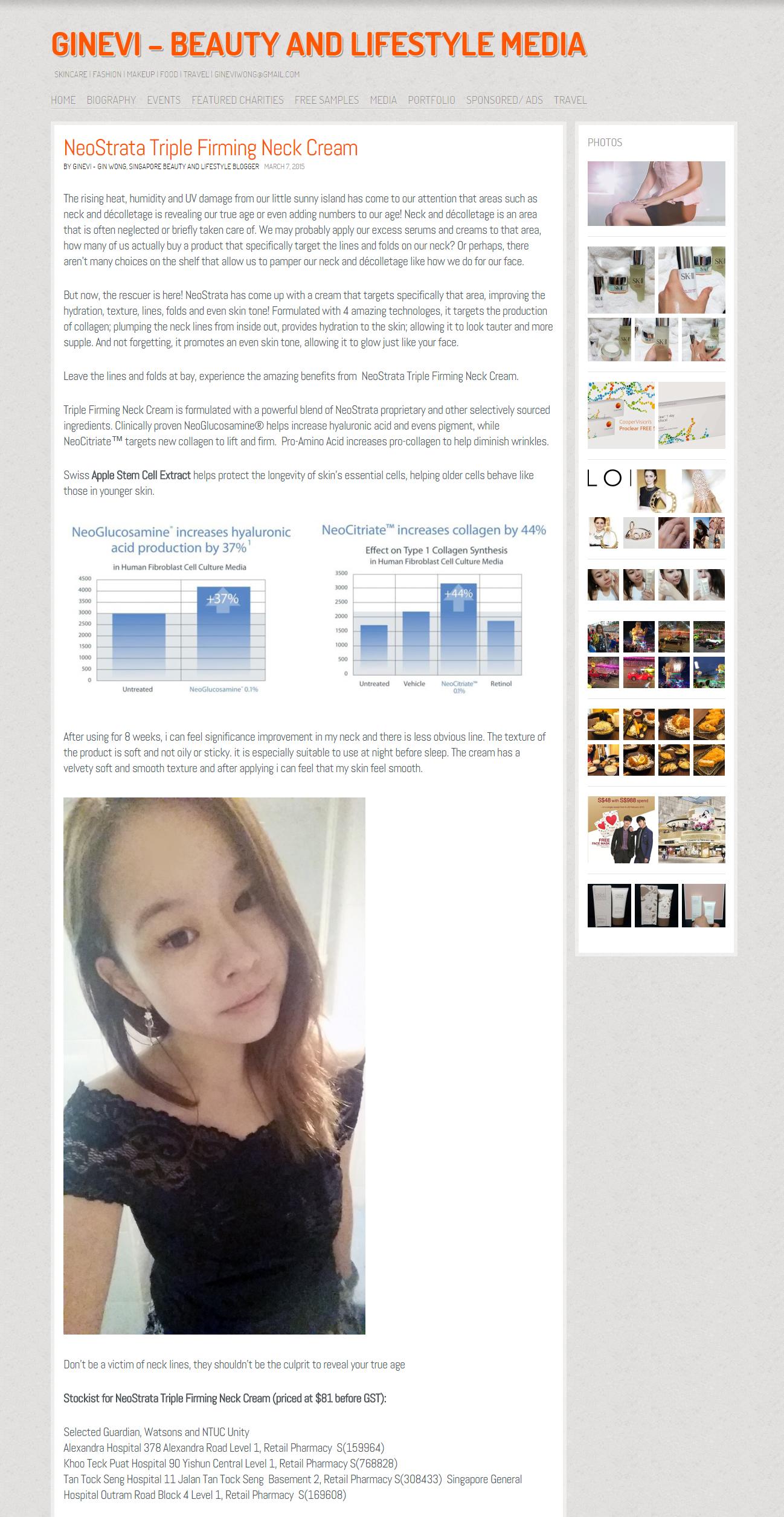 2015 03 07 - NST TFN - GINEVI Blogger